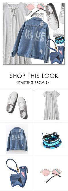 """Sporty Chic: Sneakers and Dresses"" by paculi ❤ liked on Polyvore featuring Abercrombie & Fitch, FOSSIL, StreetStyle, casual and SNEAKERSANDDRESSES"