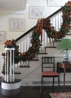Staircase for the holidays!