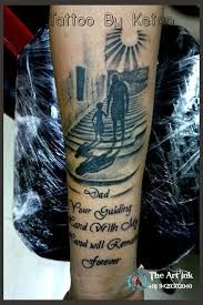Images from The Art Ink Tattoo Studio (page Tattoos For Baby Boy, Daddy Tattoos, Father Tattoos, Tattoo For Son, Family Tattoos, Tattoos For Guys, Father Daughter Tattoos, Tattoos For Daughters, Tattoo Futbol