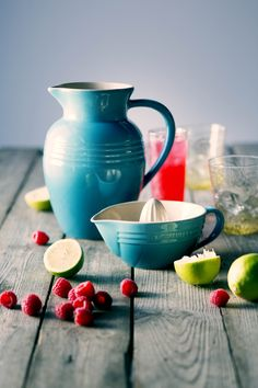 Summer punch in your Le Creuset Pitcher!