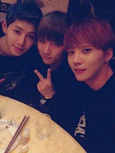 Seogoong,Hojoon & Xero <3 Topp Dogg