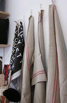 Tea towels.  I love tea towels.