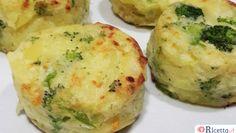 Sformatini di patate e broccoli