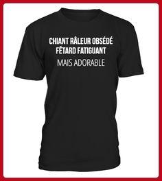 CHIANT RLEUR OBSD FTARD FATIGUANT MAIS ADORABLE - Shirts für schwester (*Partner-Link)