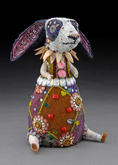 Betsy Youngquist  is a mixed media artist of Rockford, IL who has been working with beads for twenty...