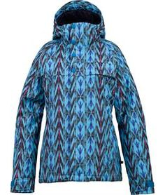 Winter holds nothing on you with the Burton Method Snowboard Jacket for women! Available in an array of colors, this jacket has a list of features to last you all season long. Burton's DRYRIDE Durashell Polyester, while being made of recycled plastic, boasts 10,000mm of waterproofing and 5,000g of breathability. The cold days will not be a challenge either, as the Method includes 3M Thinsulate insulation to keep both your arms and body warm. With an astounding list of features, such as ...