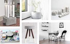 DIY: 10 ideer med beton
