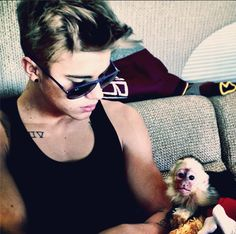 MUNICH, Germany - Canadian teen heartthrob Justin Bieber had his pet monkey Mally confiscated when he arrived with the animal at Munich airport, officials and media reports said Saturday.