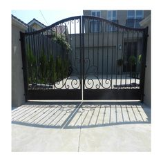 Adoore Designs excels in designing sophisticated #wrought #iron #security #gates in Australia, For a more refined and upscale look contact us on (03) 9001 0805