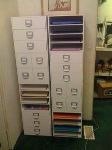 #papercraft #crafting supply #organization. new storage unit