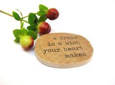 'a dream is a wish your heart makes' - Walt Disney - Cinderella brooch