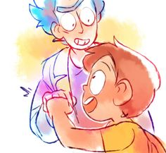 ttoba's Art Blog — The time will come when Morty doesn't need his...