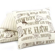Open Range Reversible Pillow - Chloe & Olive
