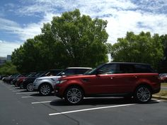 Land Rover Palm Beach at the 2014 Range Rover Sport training in NC. #LandRoverPalmBeach #LandRover #RangeRover http://www.landroverpalmbeach.com/