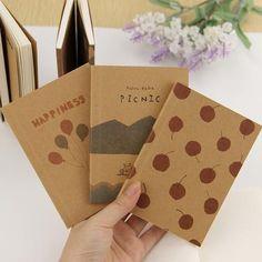 3pcs Wholesale Stationery Vintage Pastel Drawing Pastels Pockets Notedpad Lovely Notebook 8 Styles Pocket Book