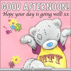 Good Afternoon everyone ,hope you all  are resting by this time xxx