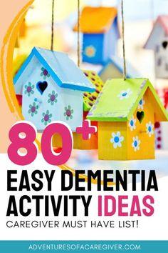 Games For Elderly, Elderly Activities, Senior Activities, Activities For Adults, List Of Activities, Craft Activities, Memory Games For Seniors, Physical Activities, Activity Ideas