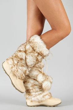 <3 Tara-Hi Pom Pom Fur Eskimo Mid-Calf Boot <3 So drooling over these!!! only $36.20!