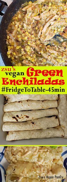 Zsu's Vegan Pantry: green enchiladas