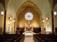 Mississippi   St. Peter the Apostle Catholic Cathedral in Jackson, MS - Inside view from your Trinity Stores crew.