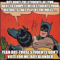 LYNN SCHOOL WATCH: UNMASKING THE MAYOR!
