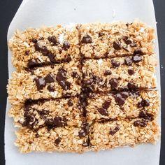 Chewy Coconut Granola Bars {vegan, gluten free}