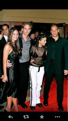 Jordana Brewster, Paul Walker, Michelle Rodriguez and Vin Diesel
