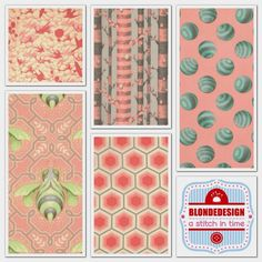 Tula Pink Bumble collection in Sorbet Fabric Bundle x 5