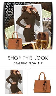 """""""Rosegal 38"""" by lina-essence ❤ liked on Polyvore featuring Yves Saint Laurent"""