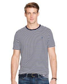 a93340de46 Custom-Fit Striped T-Shirt - Polo Ralph Lauren Tees - RalphLauren.com