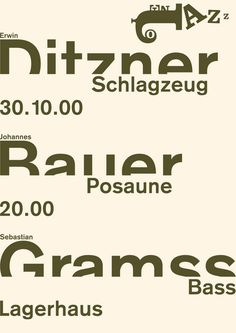 Poster by Götz Gramlich