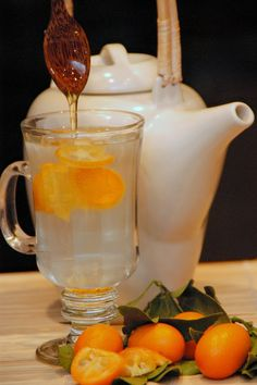 Kumquat tea. Dumbfoundingly simple.