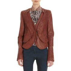 O'2nd Leather Jacket With Detachable Vest at Barneys.com