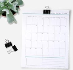 2018 Printable Calendars are HERE! - Clean Mama