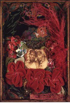 """Bittersweet (Bessie Smith)"" assemblage art by Betye Saar"