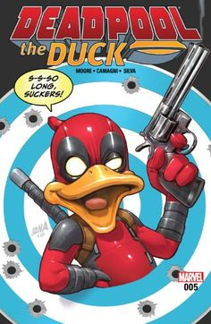 A good concept, with poor execution…It comes across as a kid friendly version of the two characters, but even a young comic reader would be a little bored with this book All-Comic, Deadpool, Deadpool the Duck, Deadpool the Duck #5, Doctor Bong, Howard the Duck, Israel Silva, Jacopo Camagni, Jessica Petrecz, Joe Sabino, Marvel, Marvel Comics, review, Stuart Moore