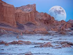 El Valle de la Luna, Chile