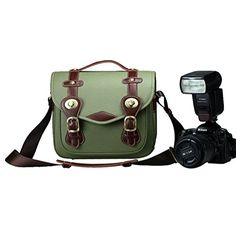 Vintage Cow Leather Camera Bag Messenger Bag for DSLR Camera and Lens Army Green Medium ZLYC http://www.amazon.co.uk/dp/B00LGKACRO/ref=cm_sw_r_pi_dp_qV8Stb11FEMKHP3M