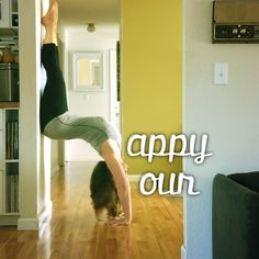 Yoga IS my happy hour