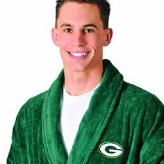 NFL Green Bay Packers Cotton Robe (Green, One Size)