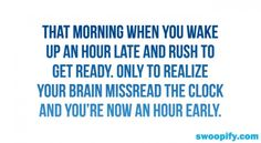 That Morning When You Wake Up Early #humor #lol #funny