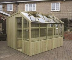 Swallow Rook 8x14 Wooden Potting Shed