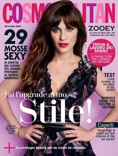 La cover star del numero di novembre 2016 di Cosmopolitan è Zooey Deschanel! Saremo in edicola a partire da venerdì 21 ottobre, formato digitale in anteprima dalle ore 18:00 di mercoledì 19 ottobre.  Tutte le info qui: http://www.cosmopolitan.it/lifestyle/news/a115478/cosmopolitan-novembre-2016-digitale/