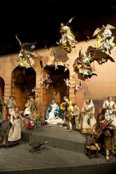 Belén napolitano Museo Nacional de Escultura de Valladolid