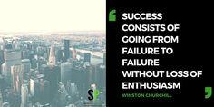 Success consist of failure
