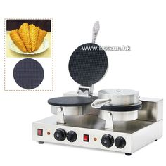130.00$  Watch more here - http://aih0l.worlditems.win/all/product.php?id=32748825750 - Commercial Non-stick 110V 220V Electric Dual Double Ice Cream Waffle Cone Maker Iron Machine