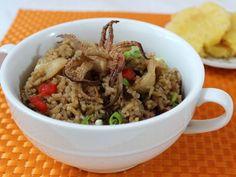 Delicioso Arroz con Calamares - Arroz con Calamares en su Tinta | QueRicaVida.com
