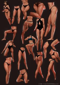 ArtStation - body, S yueye Leg Reference, Body Reference Drawing, Body Drawing, Art Reference Poses, Anatomy Reference, Anatomy Sketches, Art Sketches, Art Drawings, Anatomy Poses