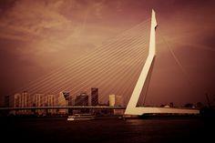 Erasmus Bridge Rotterdam by Frank Hazebroek on 500px