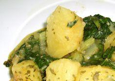 Fuente: 500carambolas.blogspot.com   Un plato con un aporte calórico bajo, 200 kcal por ración   Necesitaremos   500 gramos de acelgas fre...